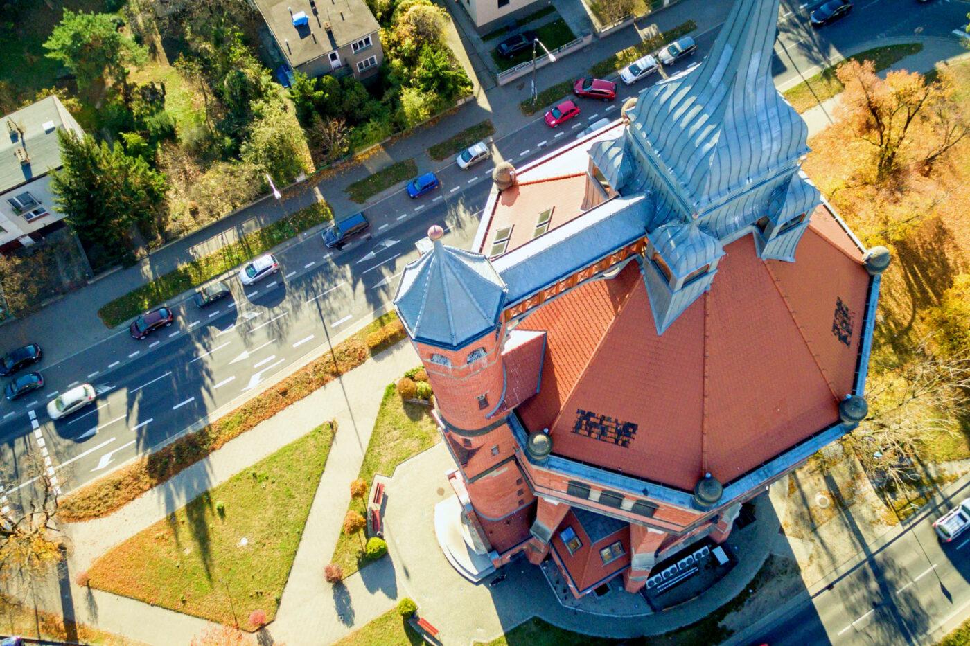 Wieża ciśnień przy alei Wiśniowej we Wrocławiu