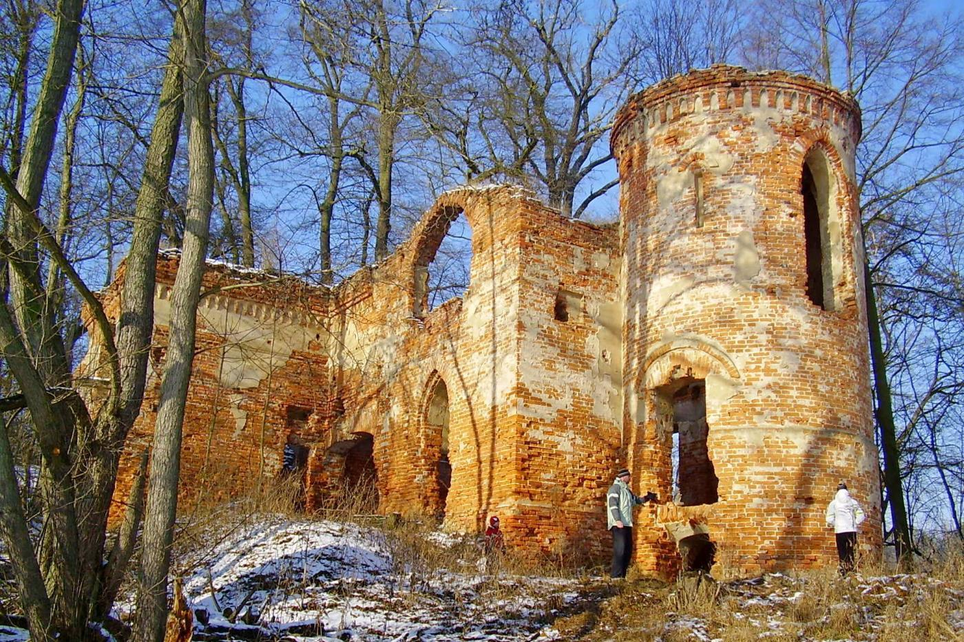 Zamek Klaudyny Potockiej, Wielkopolski Park Narodowy