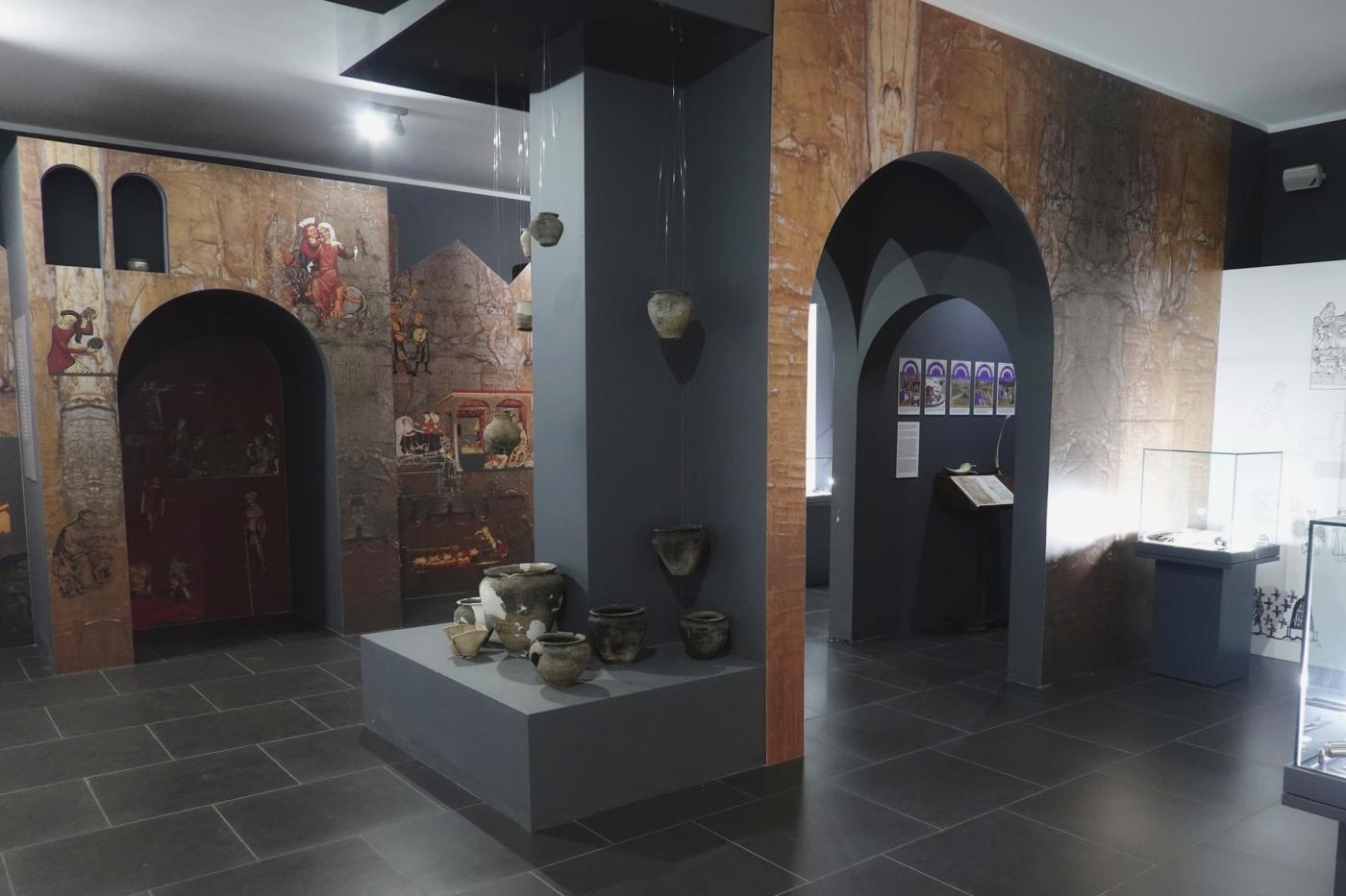 szlak piastowski atrakcje - wystawa w Rezerwacie w Gieczu