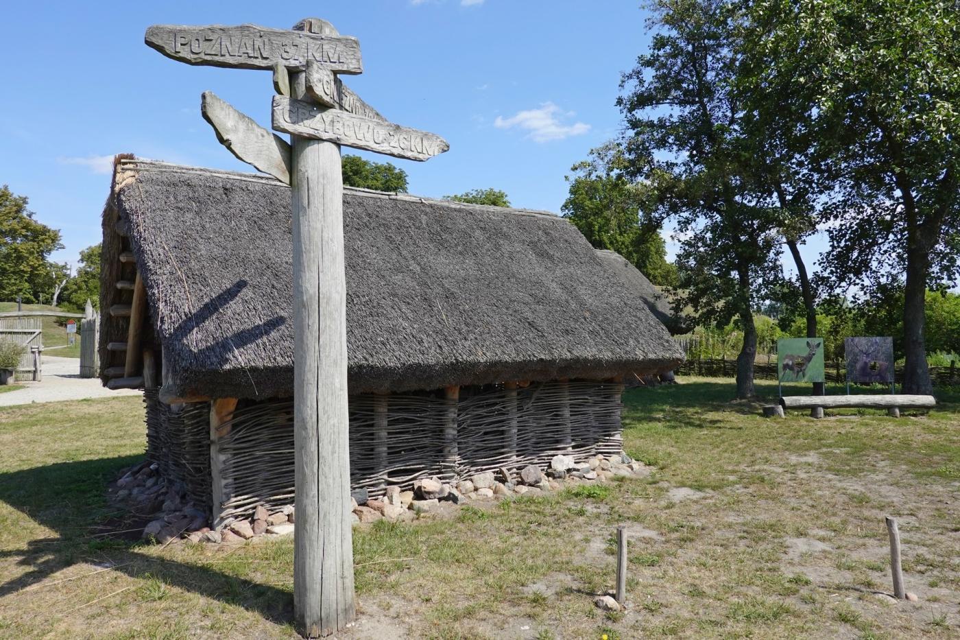 szlak piastowski atrakcje- osada wczesnopiastowska w Gieczu