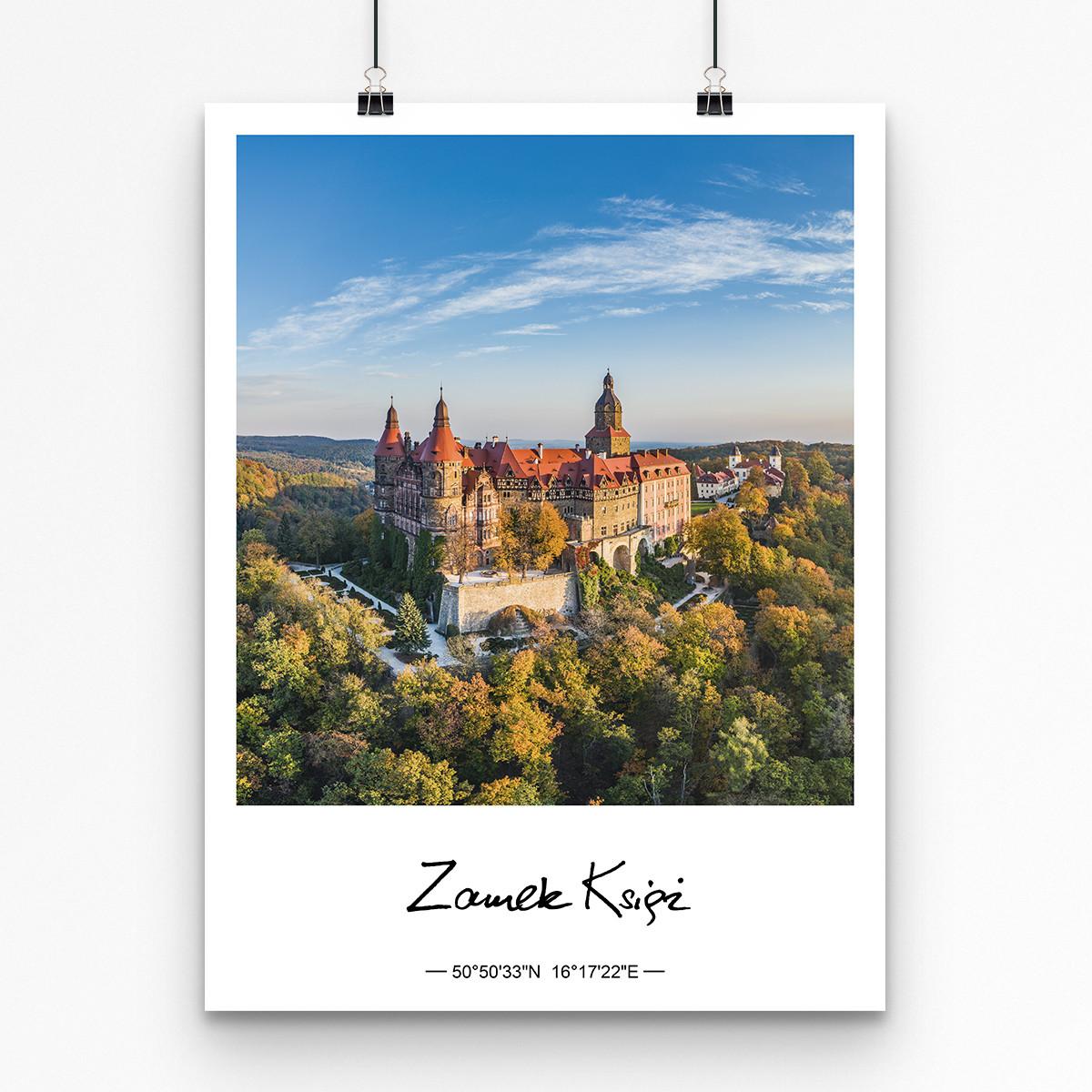 plakat zamek książ