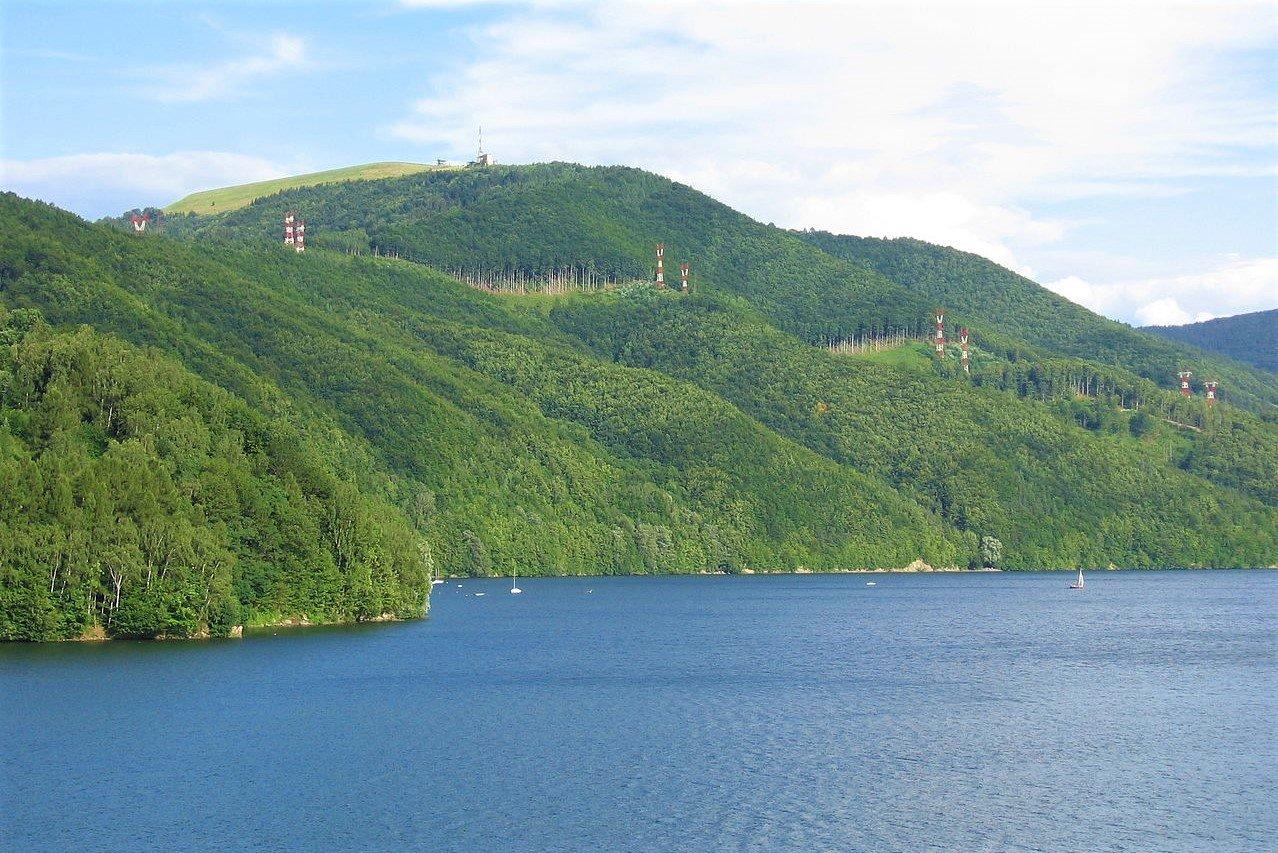 Góra Żar i Jezioro Międzybrodzkie