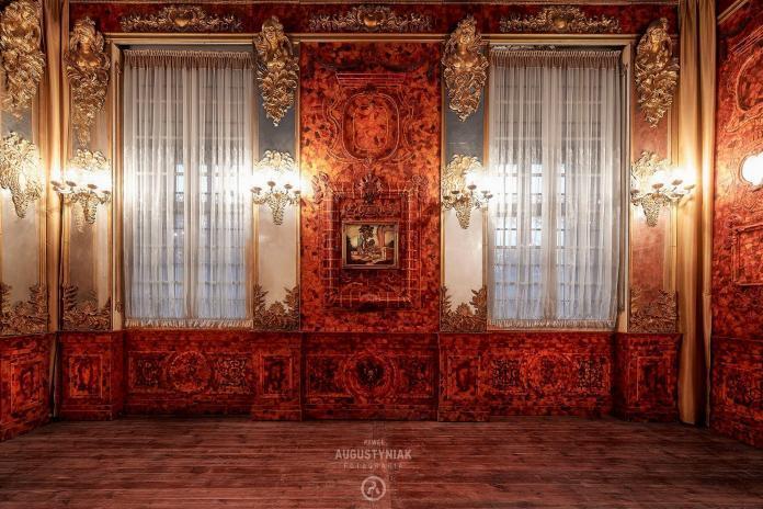 Bursztynowa Komnata, Zamek Niemodlin